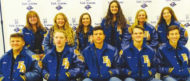 Eleven at Faith Academy Bellville earn letter jackets