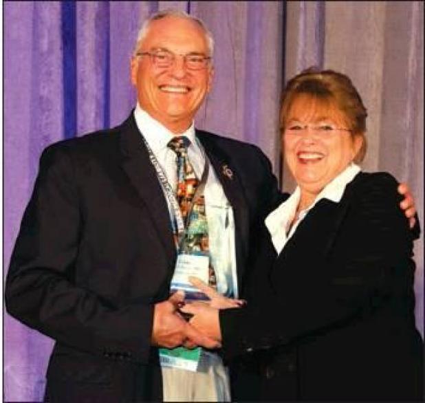Columbus family physician receives TAFP Presidential Award of Merit