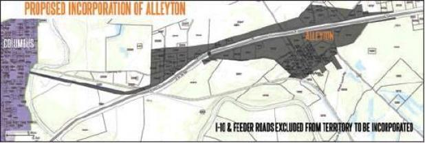 Alleyton seeks to incorporate, consolidate with Columbus