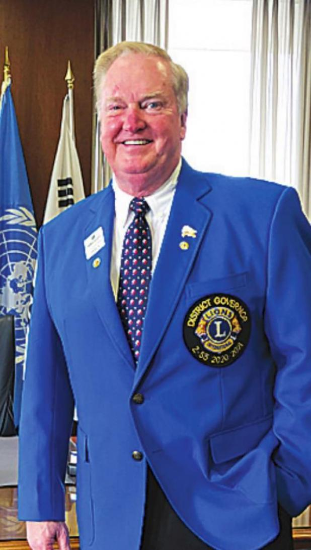 Elliott elected District Governor of Lions District 2-S5