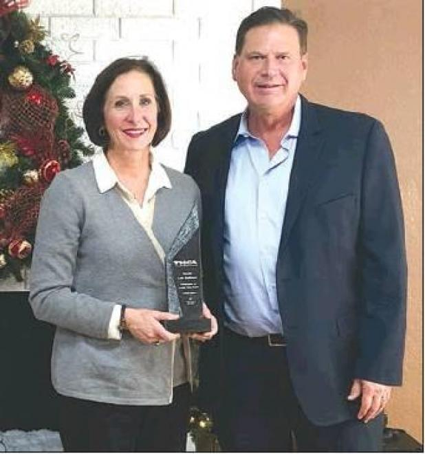 Senator Kolkhorst Named Long Term Care Champion by Texas Health Care Association