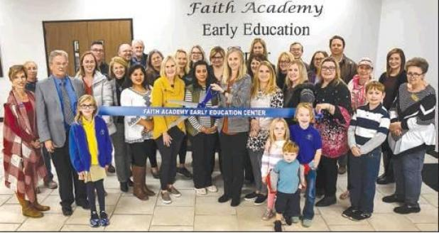 Ribbon-cutting for Early Education Department in Bellville