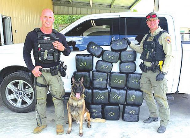 FC Narcotics K-9 Unit seizes 182 pounds of marijuana
