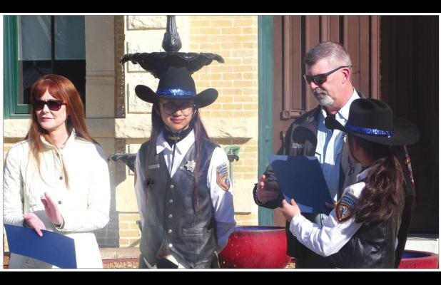 Mounted Posse presents proclamations