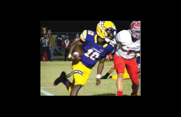 Bellville Brahmas rush past La Grange Leopards, 52-27