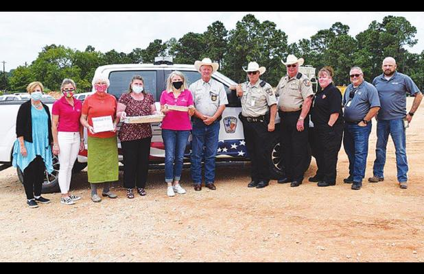 Peachy Treats for First Responders