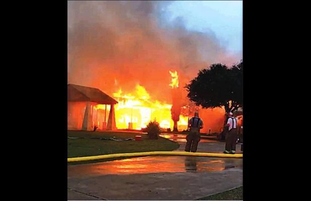 Fire detroys 12,600 sq. ft. home on 71