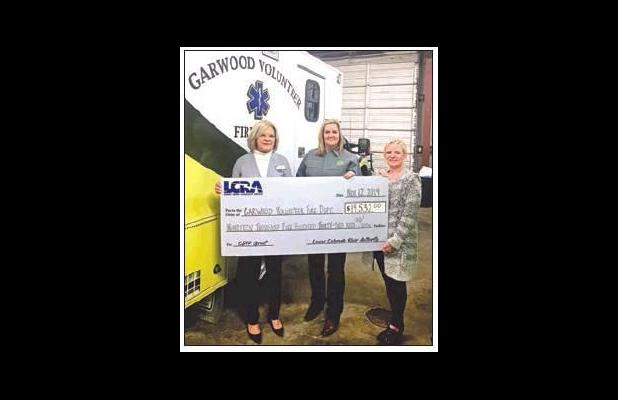 LCRA donates over $19K to Garwood VFD