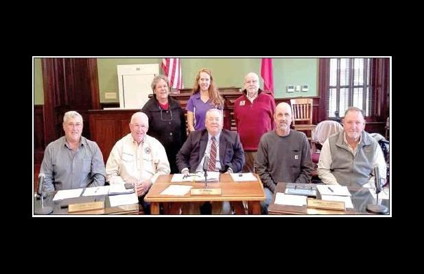 Commissioners sign proclamation