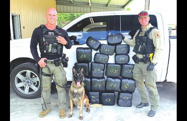 FC Narcotics K-9 Unit seizes 182 pounds of marijuana