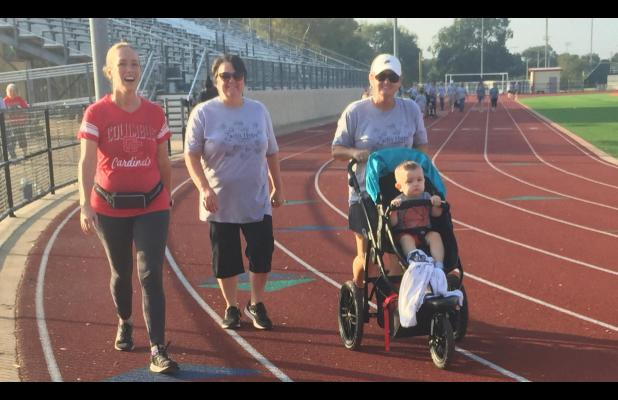 Zach's Hope makes annual rounds of track