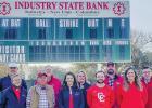 Industry State Bank sponsors scoreboard at new CHS field